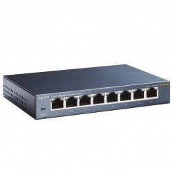 SWITCH 8 PUERTOS 10/100/1000M RJ45GIGA UNMANAGED TP-LINK